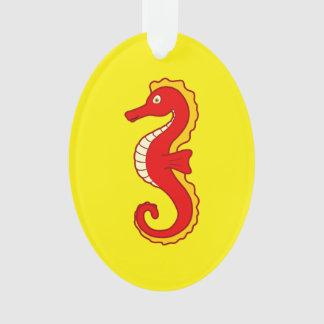 Seahorse rojo