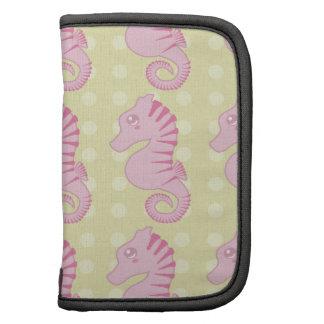Seahorse rosado lindo planificadores