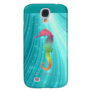 Seahorse - Save The Sea - Sea Horse Galaxy S4 Cover