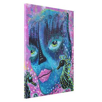 Seahorse Serenade Wrapped Canvas Print