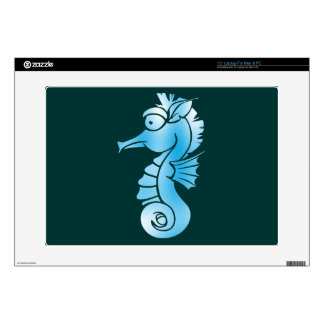 "Seahorse 15"" Laptop Decal"