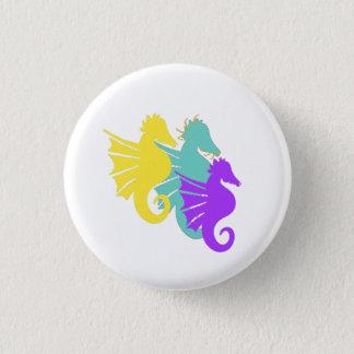 Seahorse Squad Button