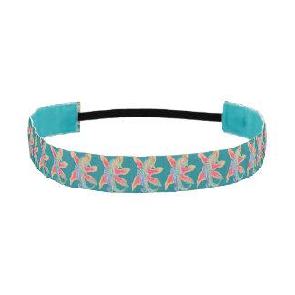 seahorse starfish blue headband