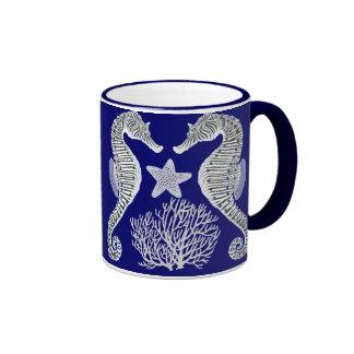 Seahorse Starfish Coral Reef Life Mug