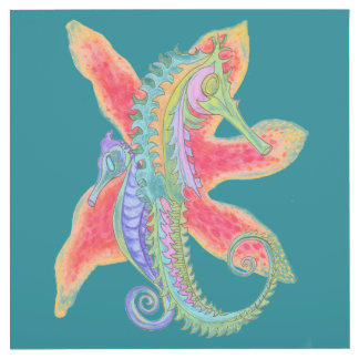 seahorse starfish outlet cover