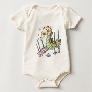seahorse_T Baby Bodysuit