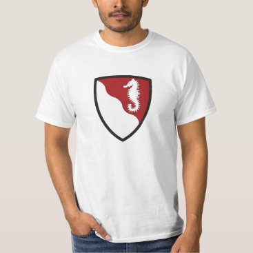 USA Themed seahorse T-Shirt