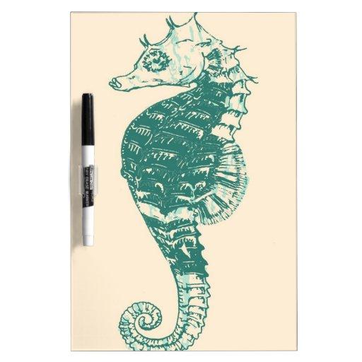 Seahorse Tablero Blanco