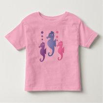 Seahorse Toddler Pink T-shirt
