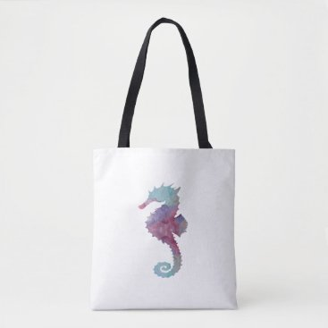 Beach Themed Seahorse Tote Bag