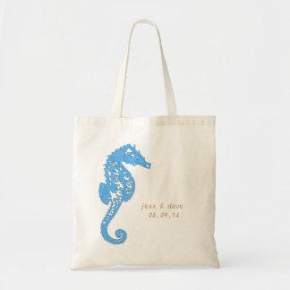 Seahorse Totes, Destination Wedding (Sample Shown) Tote Bag