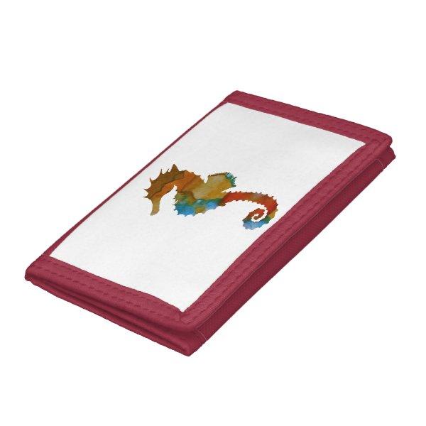 Seahorse Tri-fold Wallet