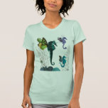 Seahorse Trio With Wings T Shirt