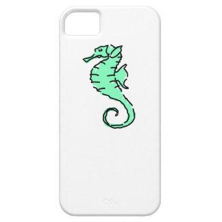Seahorse verde iPhone 5 Case-Mate protector