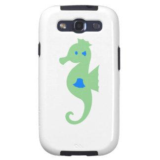 Seahorse verde y azul samsung galaxy s3 coberturas