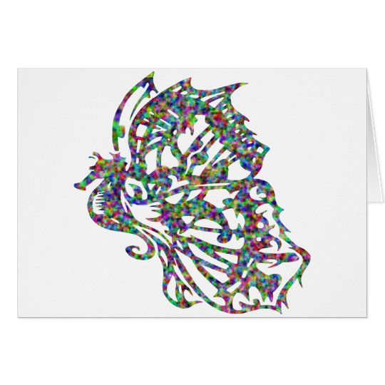 Seahorse w/ Butterfly Wings Card