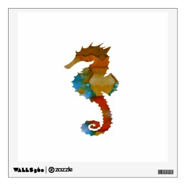 Beach Themed Seahorse Wall Decal