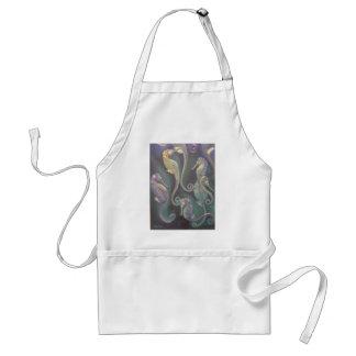 seahorses adult apron