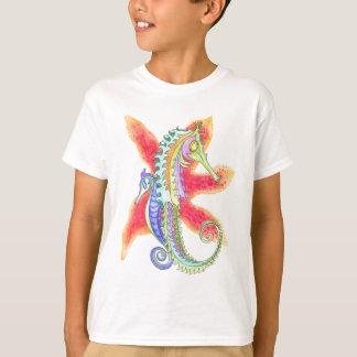 Seahorses and starfish T-Shirt