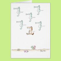 SEAHORSES Boynton Card