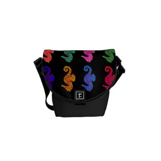 Seahorses Courier Bag