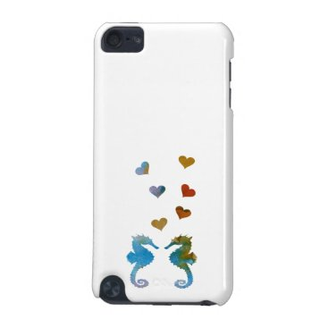Beach Themed Seahorses iPod Touch 5G Cover