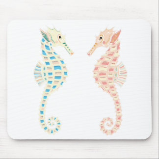 Seahorses Mouse Pads