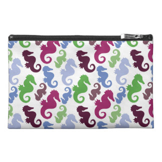 Seahorses Pattern Nautical Beach Theme Gifts Travel Accessories Bag