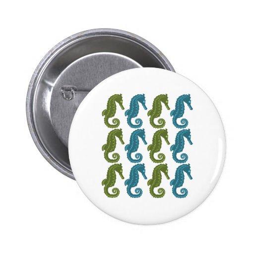 Seahorses Pins