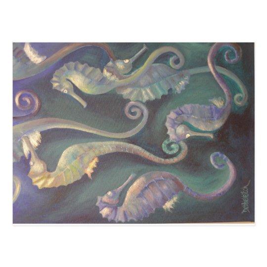 Seahorses Postcard