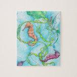 seahorses puzzle con fotos