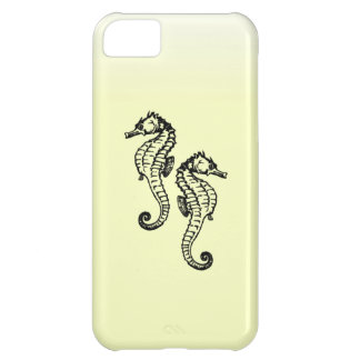 Seahorses Yellow iPhone 5C Cover