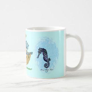 Seahorsie 2 taza clásica