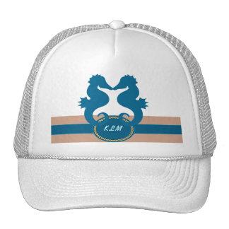 SeaKiss Monogrammed Trucker Hat