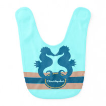 SeaKiss Personalized Bib