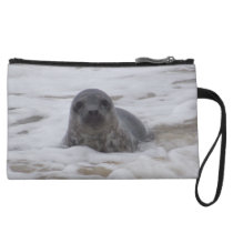 Seal - Animal Colour Photo Print Mini Clutch