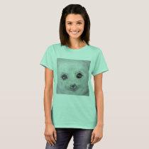 seal,baby seal,cute baby seal,cutest seal,cutest T-Shirt