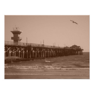 Seal Beach CA Poster