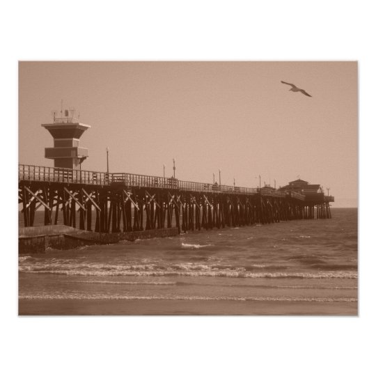 Seal Beach CA Poster