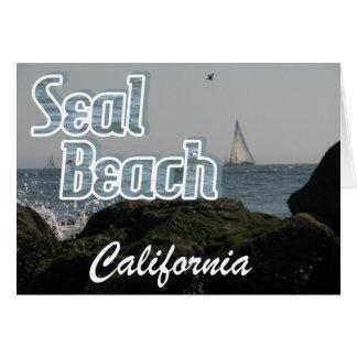 Seal Beach, California Card