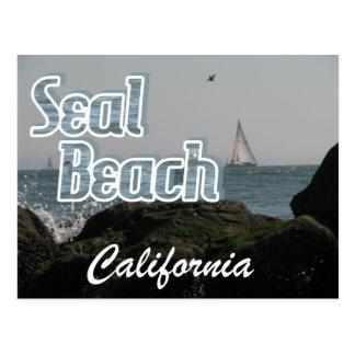 Seal Beach, California Postcard