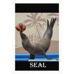 Seal (California Sea Lion) Personalized Stationery