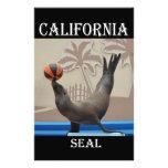 Seal (California Sea Lion) Stationery Paper