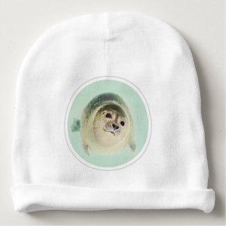 """Seal"" Custom Baby Cotton Beanie"