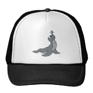 Seal Dreidel Trucker Hat