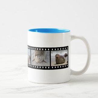 Seal Filmstrip Two Coffee Mugs