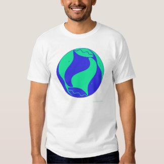 Seal friends of man. Joyous spirits dancing free. T-shirt