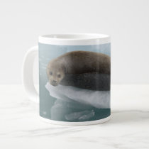 seal giant coffee mug