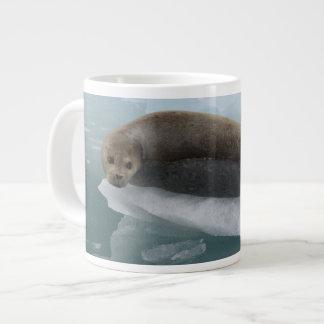 seal giant coffee mug