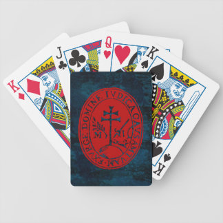 Seal: Holy Office of the Inquisition (New Spain) Bicycle Playing Cards